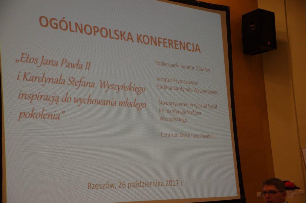 Ogólnopolska Konferencja Dyrektorów i Nauczycieli Szkół imienia Jana Pawła II i kard. Stefana Wyszyńskiego