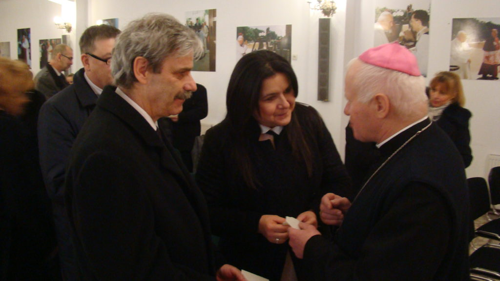 Opłatkowe spotkanie z ks. arcybiskupem Metropolitą Przemyskim Adamem Szalem.