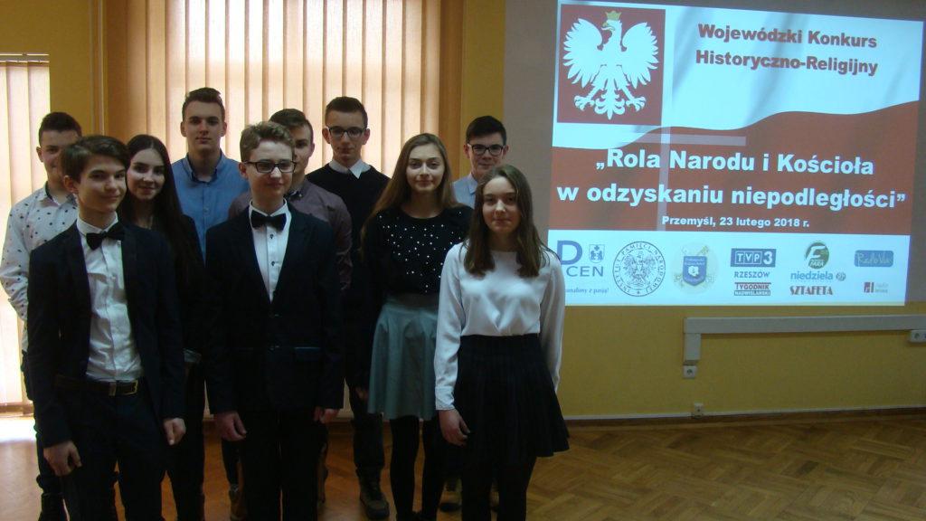II etap Wojewódzkiego Konkursu Historyczno-Religijnego - diecezja Przemyska