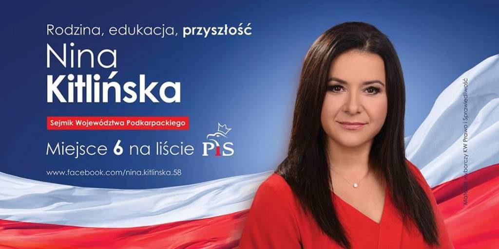 Prezes naszego Stowarzyszenia kandydatem  na radną do Sejmiku Woj. Podkarpackiego