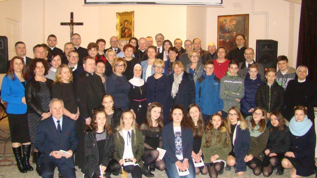 Spotkanie opłatkowe z ks. arcybiskupem Metropolitą Przemyskim Adamem Szalem