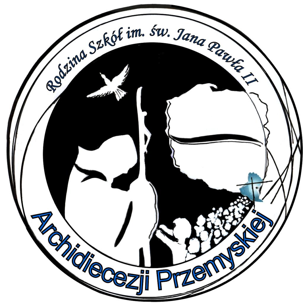 Konkurs plastyczny na logo szkół im. Jana Pawła II Archidiecezji Przemyskiej