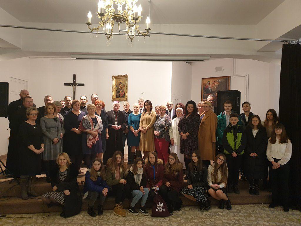 Opłatek z ks. Arcybiskupem Metropolitą Przemyskim Adamem Szalem